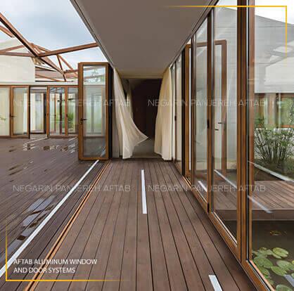 کاربرد سیستم های معماری آلومینیوم