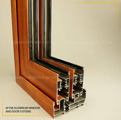درب و پنجره آلومینیومی ترمال بریک لولایی