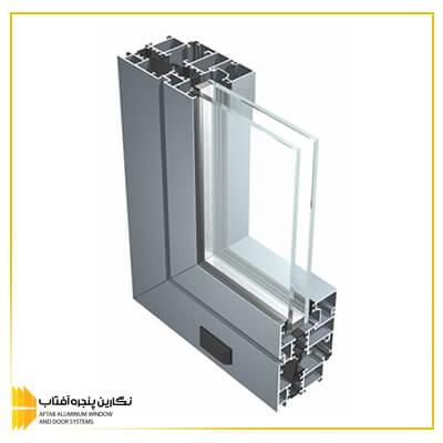 پنجره آلومینیومی آساش rwt 74