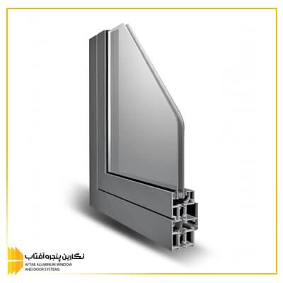 خرید پنجره آلومینیومی لولایی آساش rwt 55