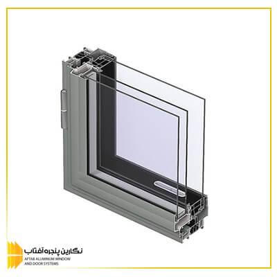 تولید پنجره آلومینیوم نرمال آساش rs 59