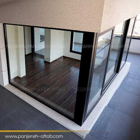 پارتیشن مدرن شیشه ای