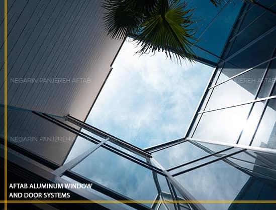 درب و پنجره نگارین پنجره آفتاب