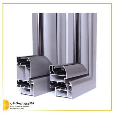 درب و پنجره های آلومینیومی نرمال ph60